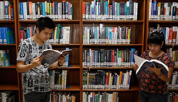 perpustakaan umum mojosari