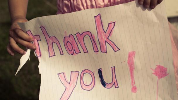 Sudahkan Anda mengucapkan terima kasih?