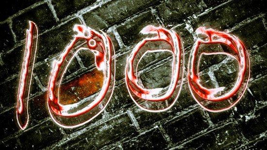 Cara menulis 1000 kata lebih