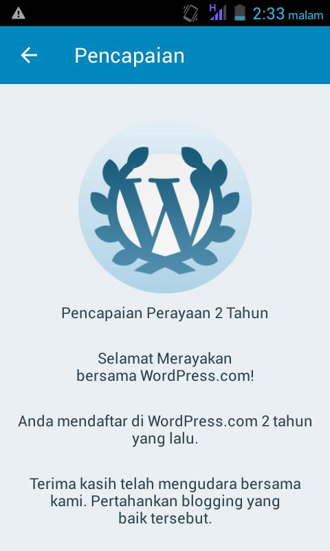 Pelajaran tentang ngeblog