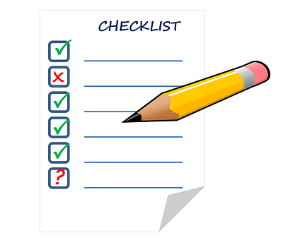 Checklist artikel sebelum dipublikasikan