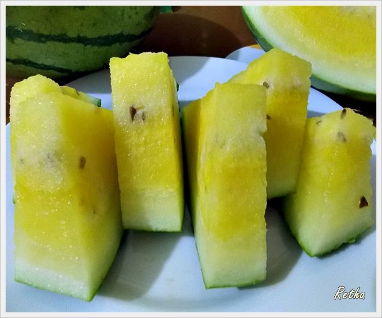 Harga buah semangka kuning 2017 mojosari