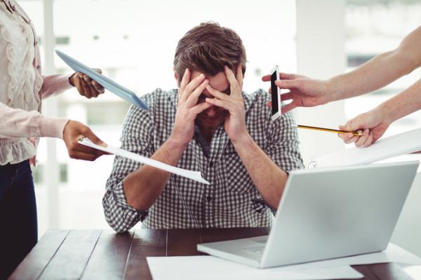 Stres karena ngeblog