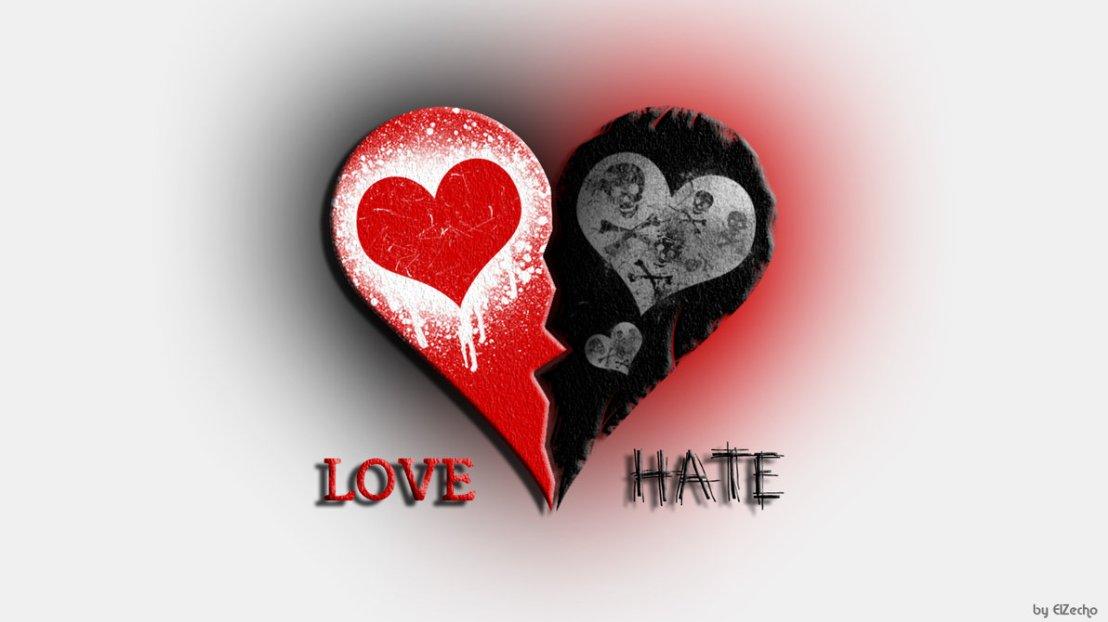 Cinta dan benci dalam menulis