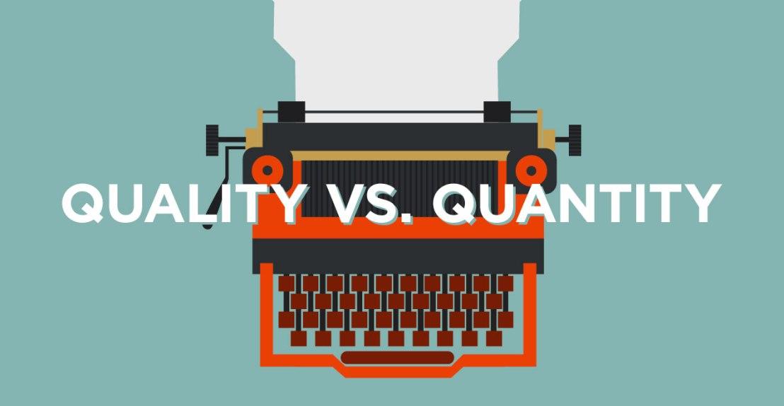 Kualitas atau kuantitas dalam ngeblog