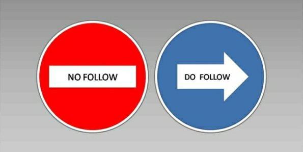 Perbedaan link do follow dan no follow