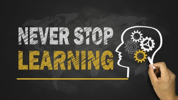 Alasan untuk tidak berhenti belajar