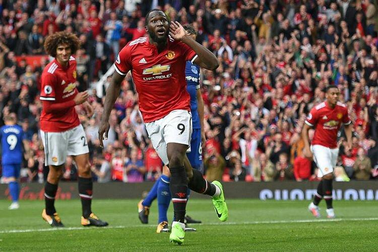 Lukaku mencetak gol kemenangan