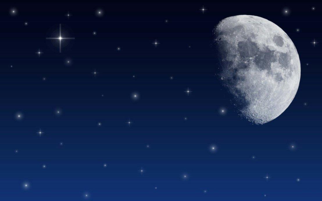 Memandang Langit di malam hari