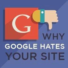 Mengapa google membenci blog Anda