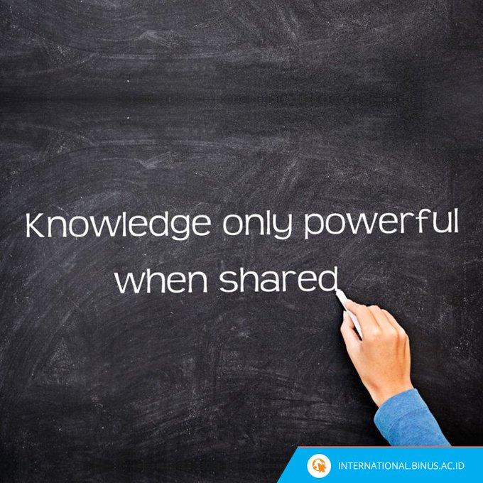 Menulis untuk berbagi ilmu