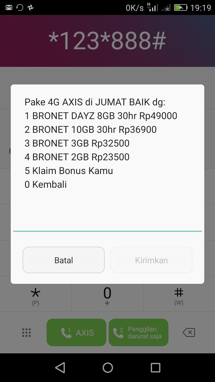 Paket Data Gratis Axis