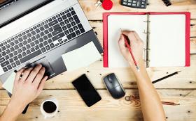 Manfaat menulis satu artikel blog setiap hari
