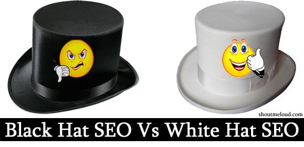 Perbedaan black hat SEO dan White hat seo