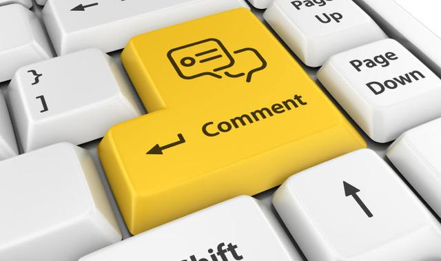 Jumlah komentar di blog yang banyak